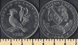 Bosnia And Herzegovina 500 Dinara 1996 - Bosnie-Herzegovine