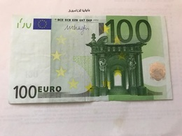 Italy Banknote 100 Euro 2002 - [ 2] 1946-… : Republiek