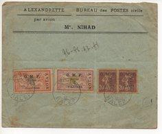 AIR MAIL LETTER 05 10 1921 #62 - Siria