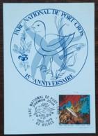 CM 1978 - YT N°2005 - PARC NATIONAL DE PORT CROS - HYERES - Maximum Cards