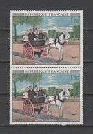 """FRANCE / 1967 / Y&T N° 1517 ** : """"La Carriole..."""" (Douanier Rousseau) X 2 En Paire - Gomme D'origine Intacte - France"""