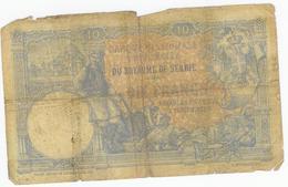 Royaume De Serbie Billet De Dix Francs , 10 Francs, 1885 Mouchon - Serbie