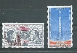 FRANCE   Yvert  PA  N° 48 Et 52  Oblitérés - Poste Aérienne