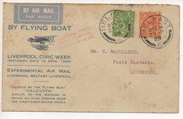 EXPERIMENTAL AIR MAIL LETTER 25 09 1928 #65 - 1922-37 Stato Libero D'Irlanda