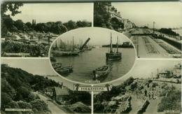 ENGLAND - FOLKESTONE - MULTI VIEWS - EDIT J. SALMON - VINTAGE POSTCARD 1950s/60s (BG875) - Folkestone