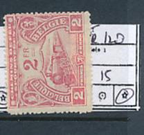 BELGIUM RAILWAY SPOORWEG CF 1920 ISSUE COB TR120 LH - Chemins De Fer