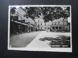 Echtofoto AK 1940 Bad Teplitz Schönau Herrenhaus Gaststätte?! - Hotels & Gaststätten