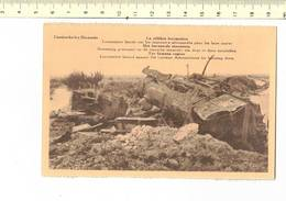 48661 - D3.50 - CAESKERKE LEZ DIXMUDE LA CELEBRE LOCOMOTIVE - Guerre 1914-18