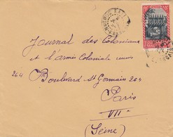 COVER FRENCH COLONIES LETTRE COLONIES FRANCE / 2 - Timbres