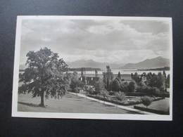 Echtofoto AK 1930 Landhaus Aiterbach Post Rimsting Am Chiemsee. Stempel K1 Prien - Hotels & Gaststätten
