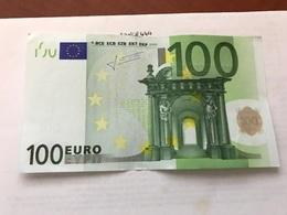 Italy Banknote 100 Euro 2002 #2 - [ 2] 1946-… : Républic