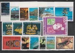 LOT 1471 POLYNESIE FRANCAISE N° 132à137-138à141-146-147à151 ** - Unused Stamps