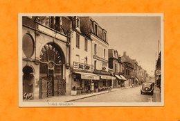 CPA - La DELIVRANDE (14) - Aspect De La Pharmacie Style Art Nouveau Au Début De La Grande Rue En 1953 - France