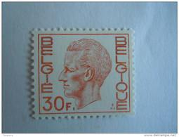 België Belgique Belgium 1972 Boudewijn Baudouin Type Elström Polyvalent Papier 1649P Yv 1587Aa MNH ** - 1970-1980 Elström