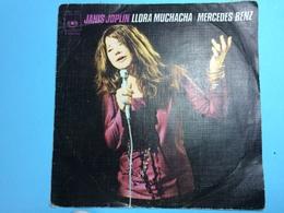 JANIS JOPLIN-LLORA MUCHACHA/  MERCEDES BENZ -DISQUE 45 T - Dischi In Vinile