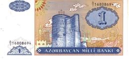 AZERBAIJAN P.14 1   Manat  1993   Unc - Azerbaïdjan