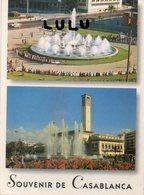 MAROC :  Souvenir De Casablanca , Multivues édit. ? : - Casablanca
