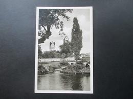 Echtofoto AK 1959 Paderborn / Paderquellen. Landpoststempel Salvator Kolleg Klausheide über Paderborn. Hövelhof - [7] Federal Republic