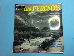 LES PYRENEES PAR MAURICE CROUTZET -DISQUE 45 T - Sonstige - Spanische Musik
