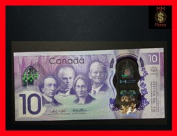 CANADA 10 $  2017  P. 112  Polymer *COMMEMORATIVE*  UNC - Canada