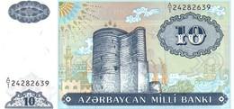 AZERBAIJAN P.16   10 Manat  1993   Unc - Azerbaïdjan
