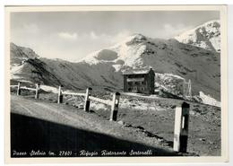 Cartolina Passo Stelvio - Rifugio Ristorante Sertorelli - Sondrio
