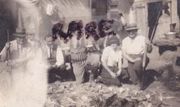 PHOTO ANCIENNE,91,ESSONNE,MORSANG SUR ORGE,JOUR DE CHASSE,CHASSEUR,GIBIER,FUSIL,RARE - Plaatsen