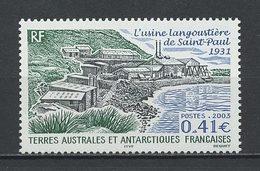 TAAF 2003 N° 349 ** Neuf MNH Superbe C 1,70 € Usine Langoustière De Saint Paul - Terres Australes Et Antarctiques Françaises (TAAF)