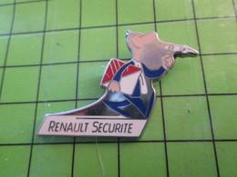 1318c Pin's Pins / Belle Qualité Et TB état !!!! : THEME AUTOMOBILES / RENAULT SECURITE - Renault