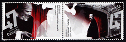 Canada (Scott No.1919-20 - Theatres) (**) - 1952-.... Règne D'Elizabeth II