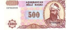 AZERBAIJAN P.18b  500 Manat  1999   Unc - Azerbaïdjan