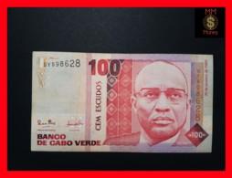 CAPE VERDE 100 Escudos 20.1.1989  P. 57  VF - Cape Verde