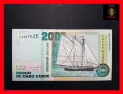 CAPE VERDE 200 Escudos 8.8.1992  P. 63  UNC - Cape Verde