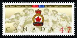 Canada (Scott No.1926 - Légion) [**] - 1952-.... Règne D'Elizabeth II