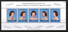 NEW ZEALAND  Scott # 620** VF MINT NH Souvenir Sheet SS-342 - Blocks & Sheetlets
