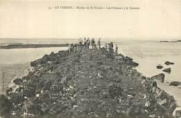33 - LE VERDON - Rocher De St Nicolas - Les Pecheurs à La Crevette - Otros Municipios