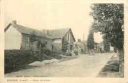 35 - THOURIE - Route De Rennes En 1947 - Altri Comuni