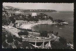 *Monte-Carlo-Beach. La Piscine Et L'Hôtel* Ed. Rella Nº 2868. Circulada 1954. - Monte-Carlo