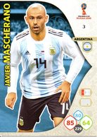 Adrenalyn XL FIFA World Cup Russia 2018 - Javier Mascherano 3 - Trading Cards