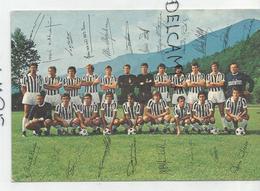 Juventus De Turin Champion D'Italie 1974. Dino Zoff, Cestmir Vycpaek, Paolo Rossi, ... Signature Des Joueurs. - Football