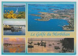 56 - Le Golfe Du Morbihan - Multivues: Ile Aux Moines ..., Arradon..., Port Navalo..., Séné ... - Ed. JOS - Zonder Classificatie