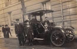 TAXI-PARIS -CARTE-PHOTO- - Taxi & Carrozzelle