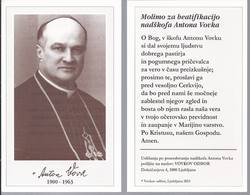 Arcivescovo Antonu Vovku - Archbishop - Ljubljana - B.7 - Santini