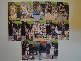 13 Chip Phonecards From Philippines - Basketball - Philippines