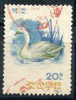 Y85 DPRK (North Korea) 1962 406 Fauna. Birds. Cygnus Columbianus Bewickii - Swans