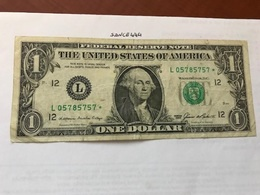 USA United States $1.00 Banknote 1985 - National Currency