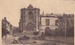 Mons Eglise Saint Waudru Portail Principal - Mons