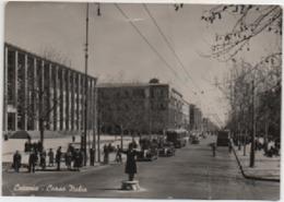 Catania: Corso Italia. Viaggiata 1954 - Catania