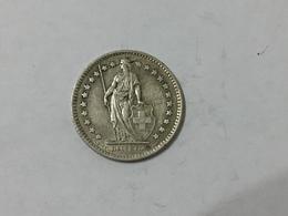 MONETA Svizzera Switzerland 1 Franco Franc 1959  Helvetia ARGENTO SILVER - Svizzera