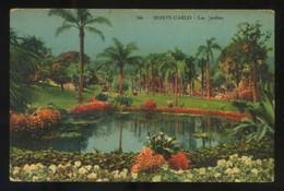 Monte-Carlo. *Les Jardins* Ed. J. Gilletta & Cie Phot. Nº 766. Nueva. - Monte-Carlo